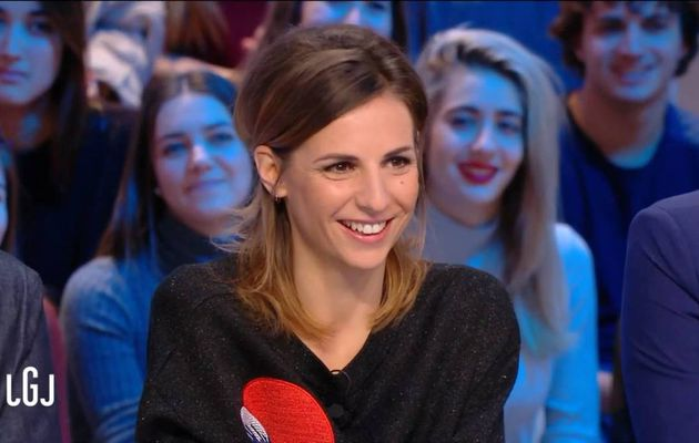 Alice Darfeuille Le Grand Journal Canal+ le 05.12.2016