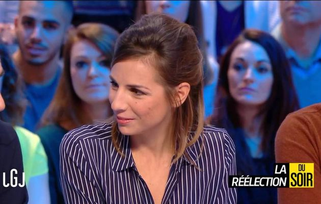 Alice Darfeuille Le Grand Journal Canal+ le 06.12.2016