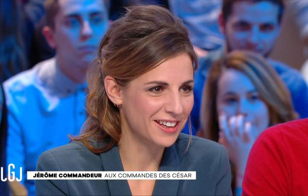 Alice Darfeuille Le Grand Journal Canal+ le 13.12.2016