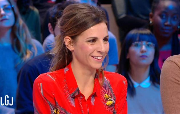 Alice Darfeuille Le Grand Journal Canal+ le 14.12.2016