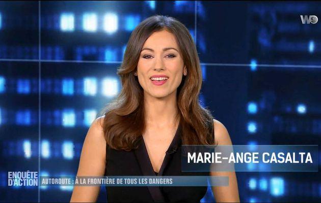 Marie-Ange Casalta Enquête d'Action W9 le 16.12.2016