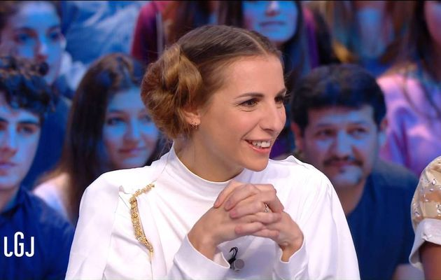 Alice Darfeuille Le Grand Journal Canal+ le 16.12.2016