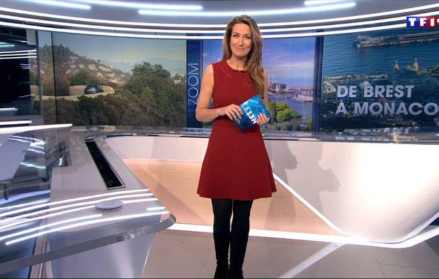 Anne-Claire Coudray JT 13H TF1 le 18.12.2016