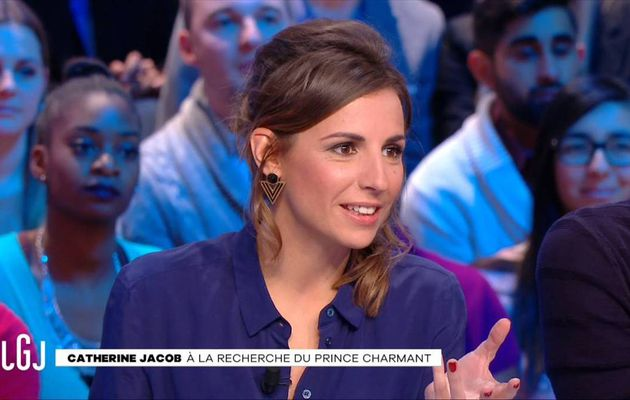 Alice Darfeuille Le Grand Journal Canal+ le 02.01.2017
