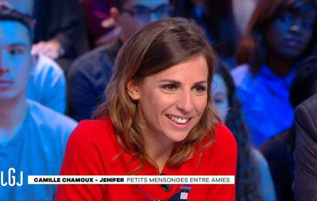 Alice Darfeuille Le Grand Journal Canal+ le 03.01.2017