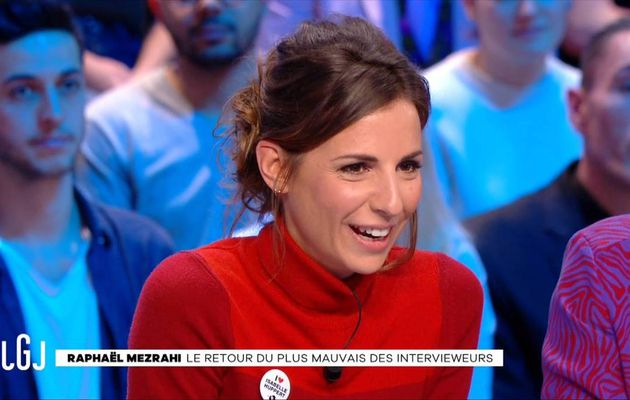 Alice Darfeuille Le Grand Journal Canal+ le 04.01.2017