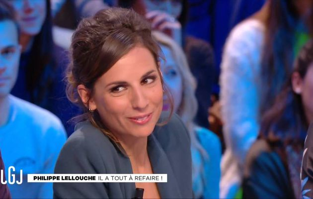 Alice Darfeuille Le Grand Journal Canal+ le 06.01.2017