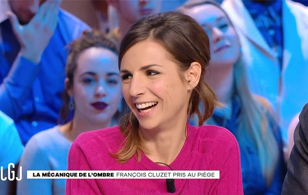 Alice Darfeuille Le Grand Journal Canal+ le 10.01.2017