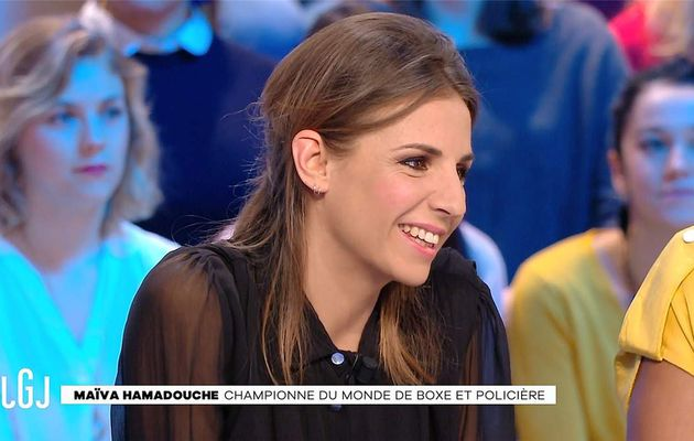 Alice Darfeuille Le Grand Journal Canal+ le 11.01.2017