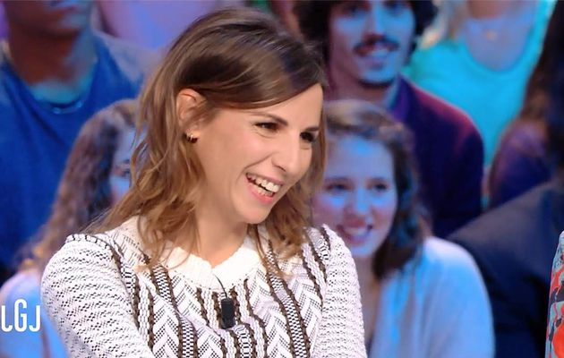 Alice Darfeuille Le Grand Journal Canal+ le 12.01.2017