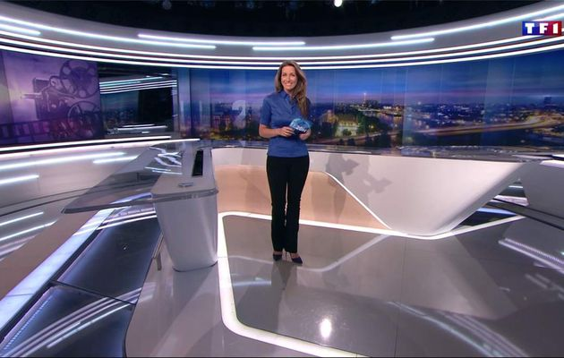 Anne-Claire Coudray JT 20H TF1 le 13.01.2017
