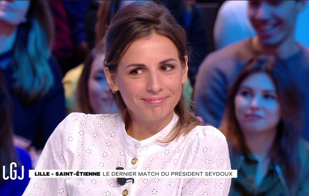 Alice Darfeuille Le Grand Journal Canal+ le 13.01.2017