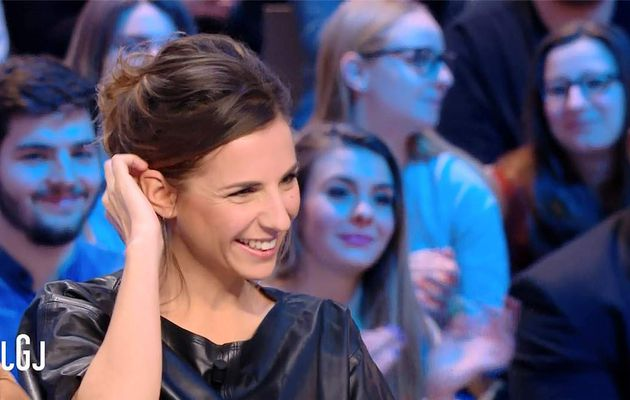 Alice Darfeuille Le Grand Journal Canal+ le 26.01.2017