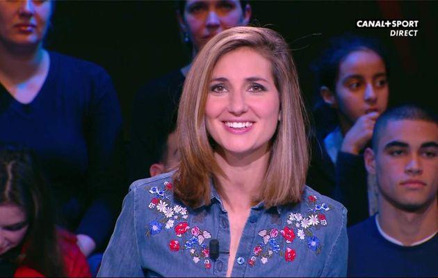 Marie Portolano 19H30 Sport Canal+Sport le 27.01.2017