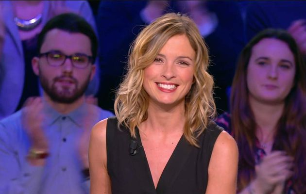 Isabelle Ithurburu Canal Rugby Club Canal+ le 29.01.2017