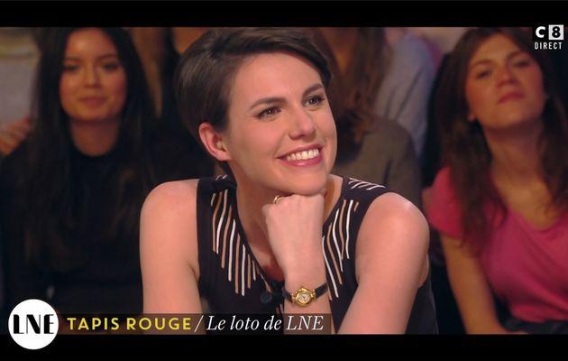 Emilie Besse La Nouvelle Edition C8 le 02.02.2017
