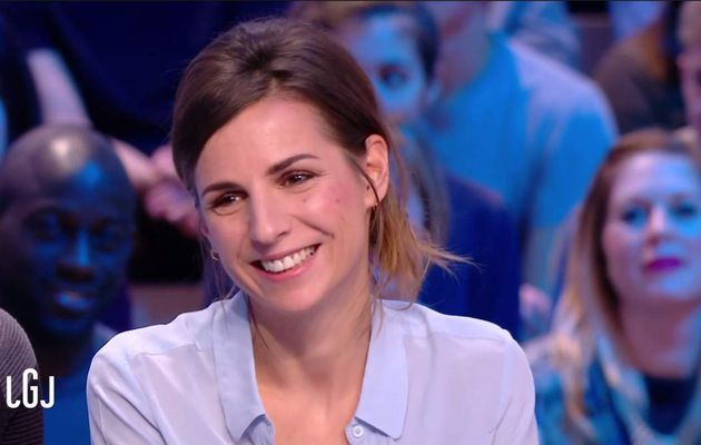 Alice Darfeuille Le Grand Journal Canal+ le 03.02.2017