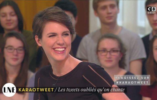 Emilie Besse La Nouvelle Edition C8 le 03.02.2017
