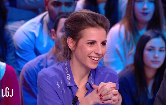 Alice Darfeuille Le Grand Journal Canal+ le 13.02.2017