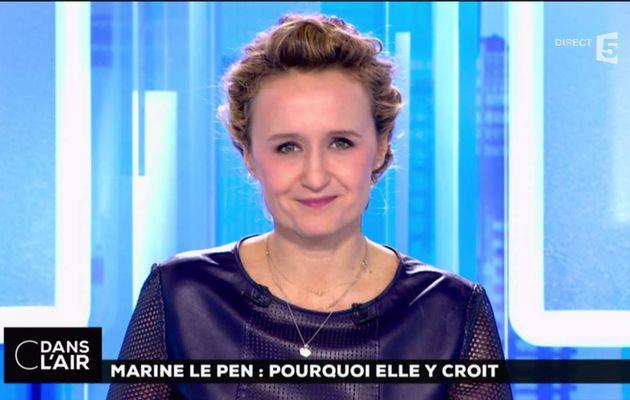 Caroline Roux C Dans l'Air France 5 le 21.02.2017