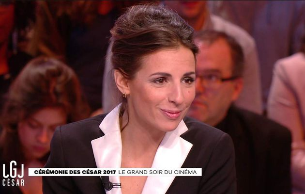Alice Darfeuille Le Grand Journal Canal+ le 24.02.2017