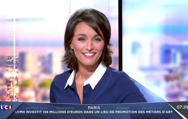 Amandine Bégot LCI Matin LCI le 09.03.2017