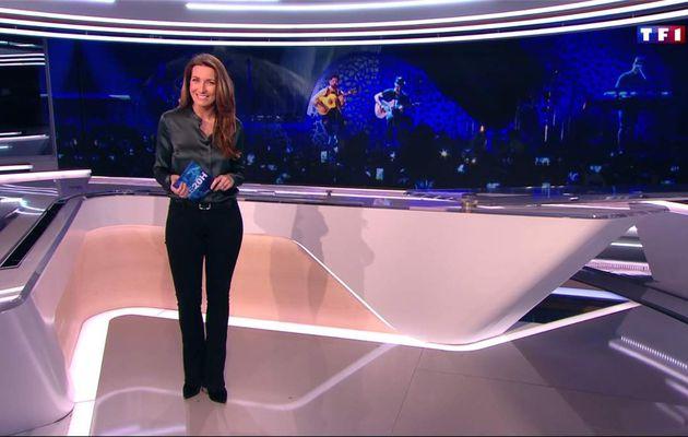 Anne-Claire Coudray JT 20H TF1 le 11.03.2017