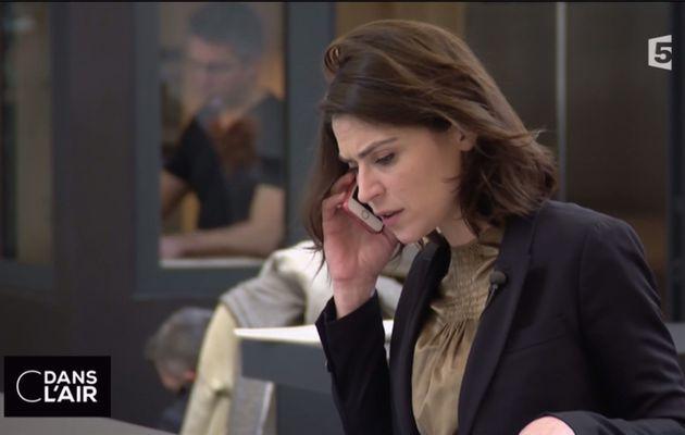 Sonia Chironi C Dans l'Air France 5 le 20.03.2017