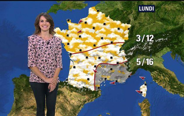 Fanny Agostini Météo BFM TV le 22.03.2017