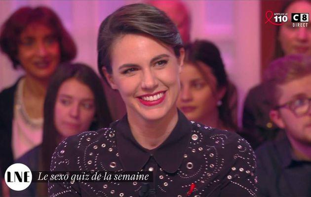 Emilie Besse La Nouvelle Edition C8 le 24.03.2017