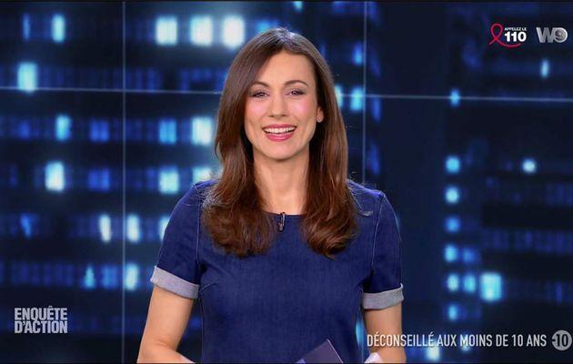 Marie-Ange Casalta Enquête d'Action W9 le 24.03.2017