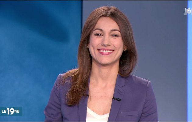 Marie-Ange Casalta Le 19:45 M6 le 19.04.2017