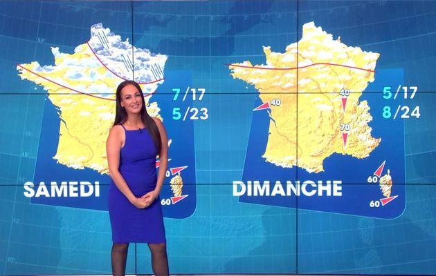 Alexandra Blanc Météo LCI le 21.04.2017