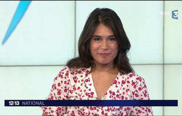 Emilie Tran Nguyen Le 12/13 France 3 le 16.05.2017