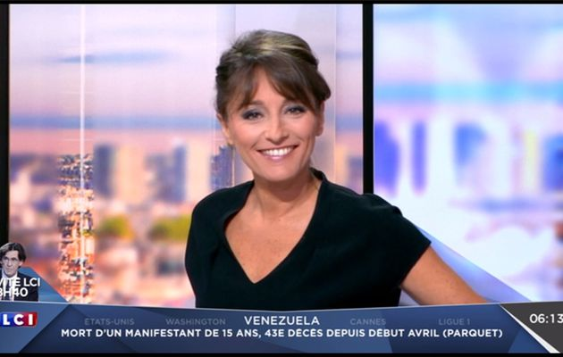 Amandine Bégot LCI Matin LCI le 18.05.2017