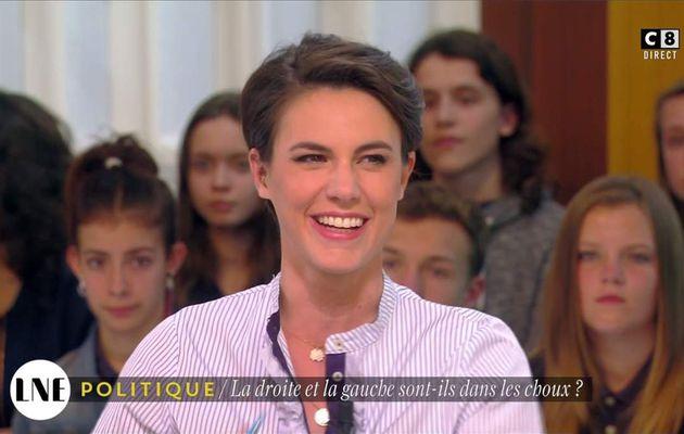 Emilie Besse La Nouvelle Edition C8 le 22.05.2017