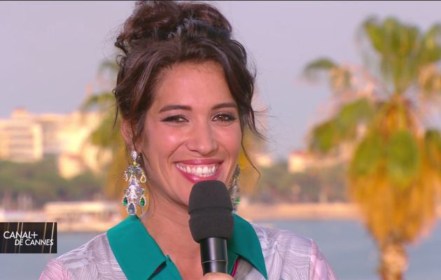 Laurie Cholewa Canal+ de Cannes Canal+ le 25.05.2017