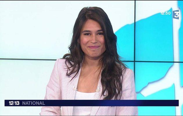 Emilie Tran Nguyen Le 12/13 France 3 le 25.05.2017