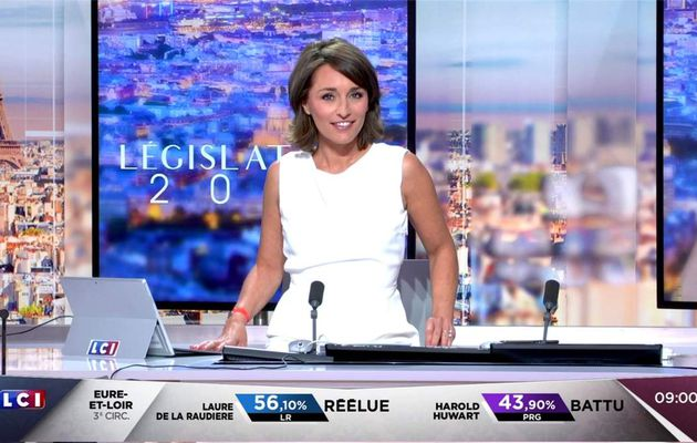 Amandine Bégot LCI Matin LCI le 19.06.2017