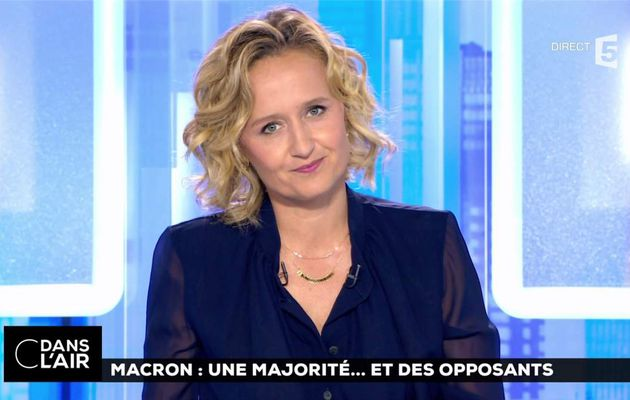 Caroline Roux C Dans l'Air France 5 le 19.06.2017