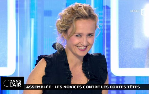 Caroline Roux C Dans l'Air France 5 le 27.06.2017
