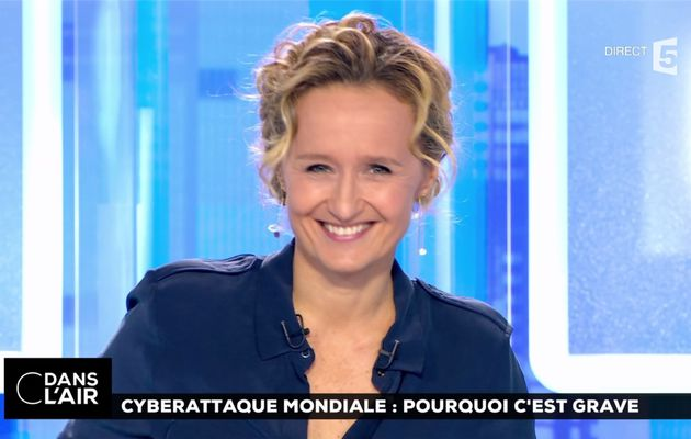 Caroline Roux C Dans l'Air France 5 le 28.06.2017