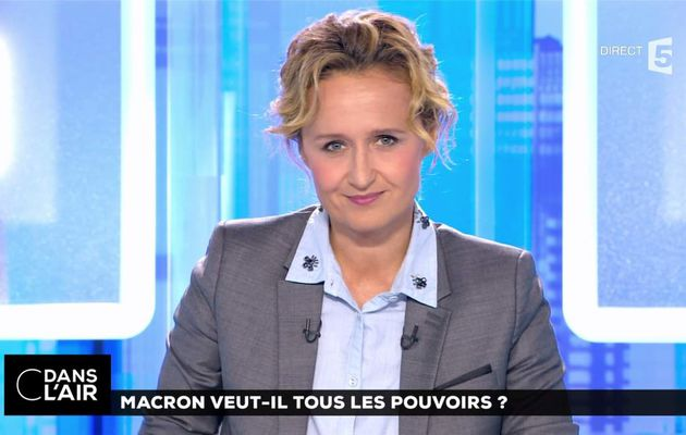 Caroline Roux C Dans l'Air France 5 le 29.06.2017