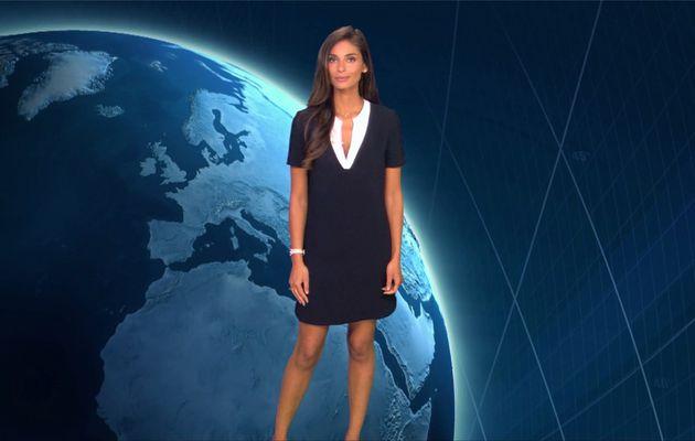 Tatiana Silva Météo TF1 le 01.07.2017