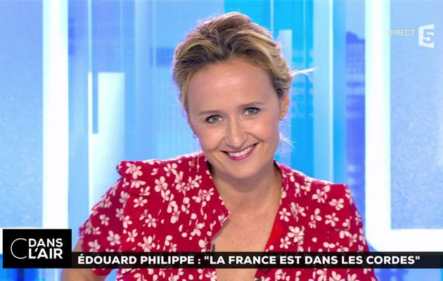 Caroline Roux C Dans l'Air France 5 le 04.07.2017