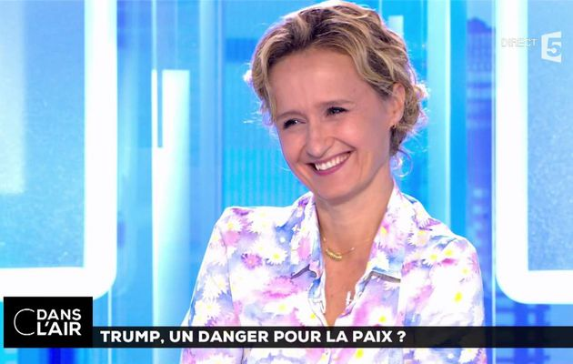 Caroline Roux C Dans l'Air France 5 le 06.07.2017