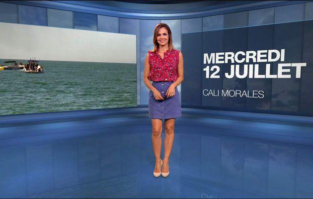 Cali Morales Météo M6 le 12.07.2017
