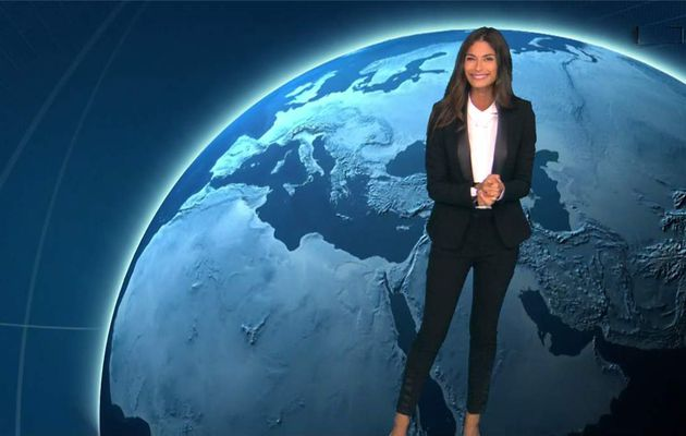 Tatiana Silva Météo TF1 le 20.07.2017