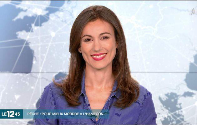 Marie-Ange Casalta Le 12:45 M6 le 06.08.2017