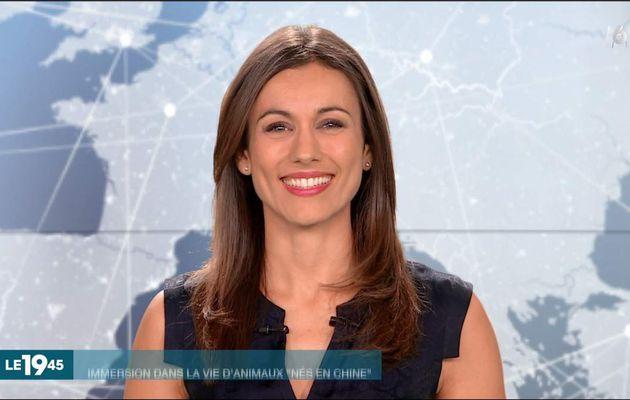 Marie-Ange Casalta Le19:45 M6 le 20.08.2017